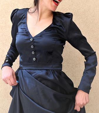 שמלת מקסי בעיצוב אישי M I