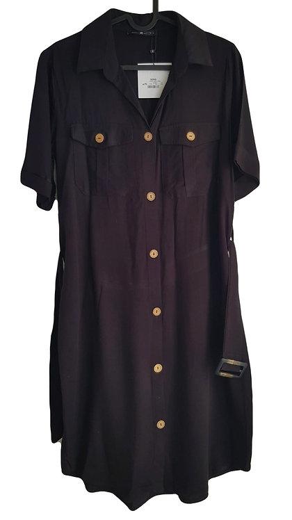 שמלת דגמח עם חגורה I S