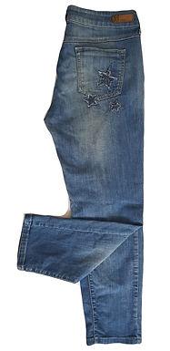 ג'ינס כוכבים גזרה נמוכה I M I MNG