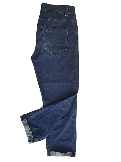 ג'ינס גבוה ורחב בירכיים M | TAMNOON