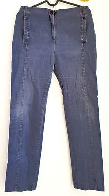 נופר גלפז I ג'ינס בצבע כחול עבודה L