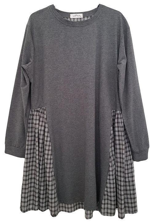 שמלה משולבת פפיטה OS | Yanga