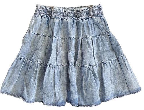 חצאית מיני מתנפנפת ווש I S