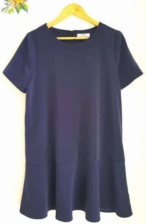 שמלה קז'ואל סיומת פפילום L I MANGO