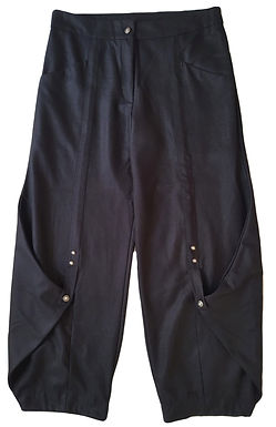 מכנסיים בגזרה רחבה XL I HAGARA