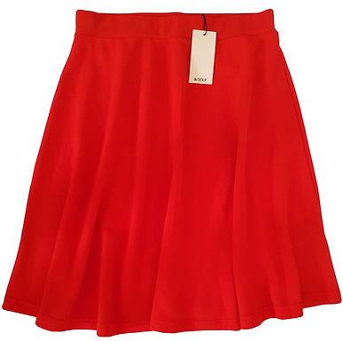 חצאית מידי אדום-כתמתם M I GOLF