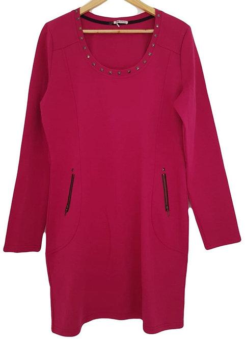 שמלה סגולה חיננית L I TAG WOMAN
