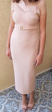 שמלת ערב ניוד מקסי חדשה S I NATALY A. SHEVILLY