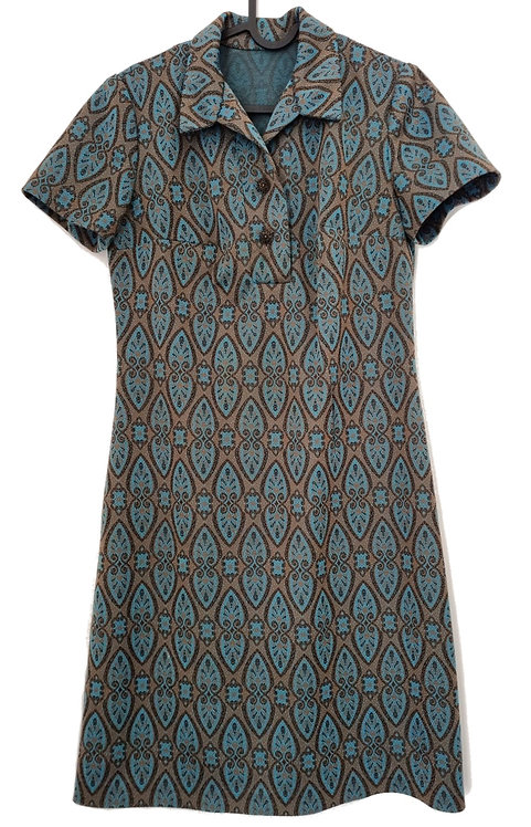 שמלת וינטג' וואן פיס! S\M | VINTAGE
