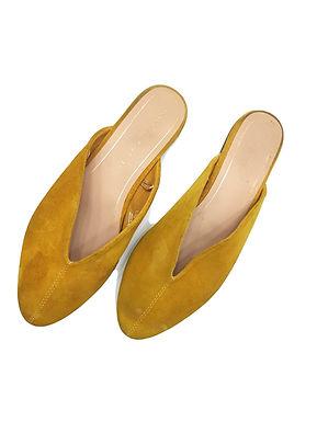 37 נעלי זמש שטוחות ZARA I