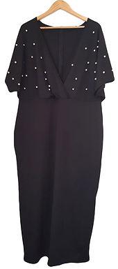 שמלת מקסי פנינים XXL I SHEIN