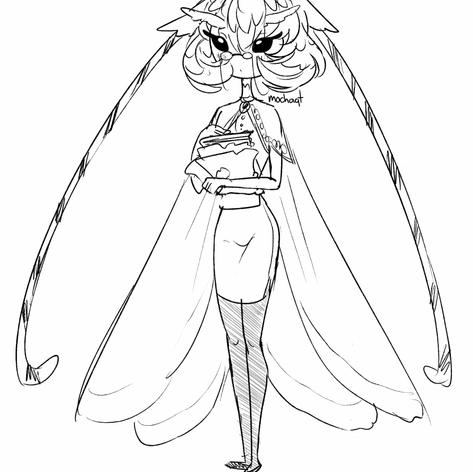 Moth Librarian