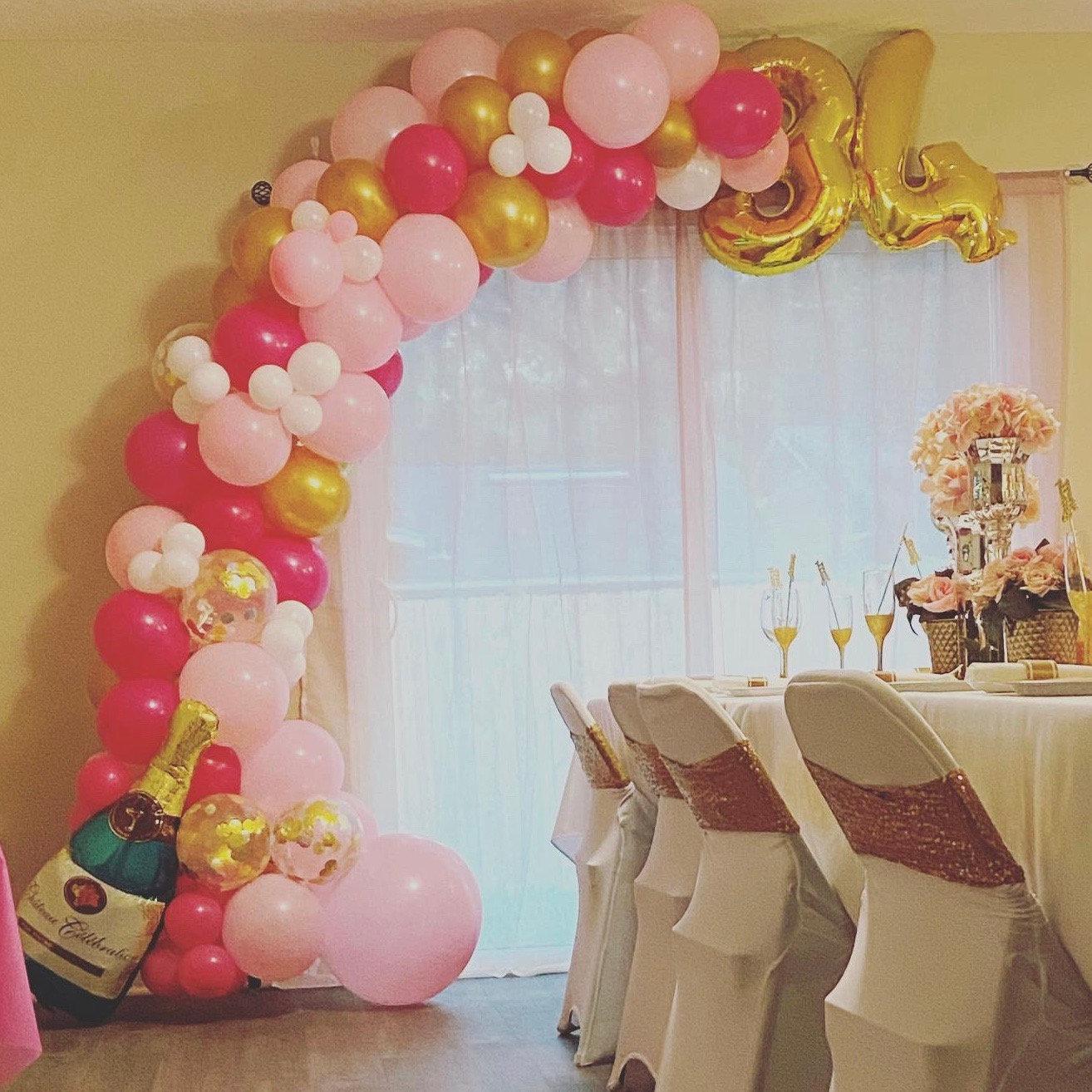 Partial Balloon garland