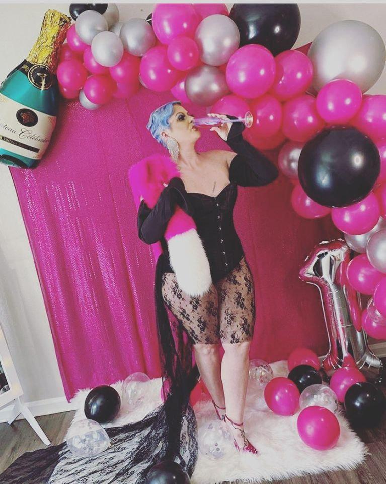 Balloon Garland Full