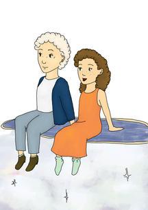 Grandma comes to visit