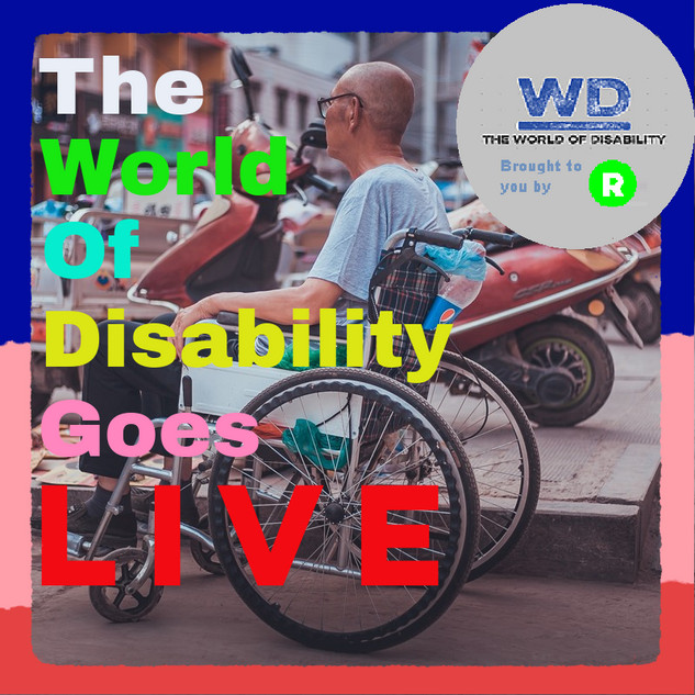 The World of Disability Goes Live