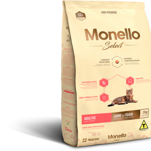 Monello Select Gatos Castrados 2KG-7KG