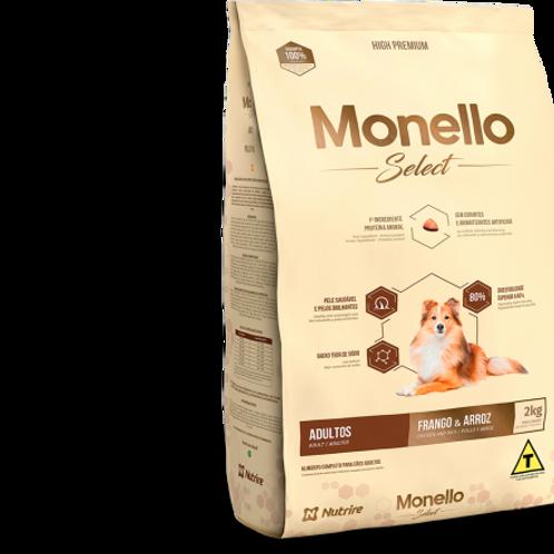 Monello Select Adulto Pollo y Arroz 2KG-7KG-15KG