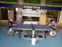 Animation tennis de table au sein du Groupe Neslté Waters