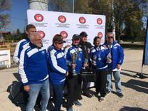 Belle performance de l'USLS Metz au Championnat de France Handisport des Sourds de Pétanque Mixte