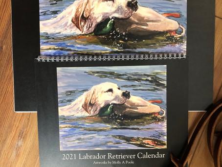 2021 Labrador Retriever Calendar