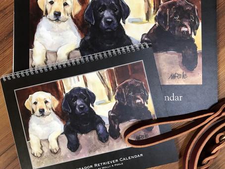 2020 Labrador Retriever Calendar