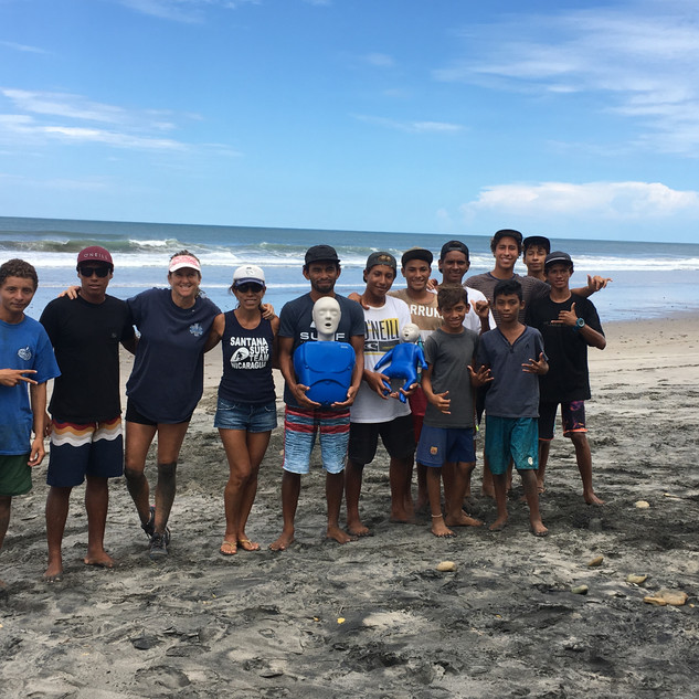 Rancho Santana Surf Team