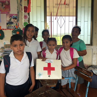 Local School Gets First Aid Supplies