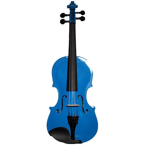 Violín Azul perlado +Estuche