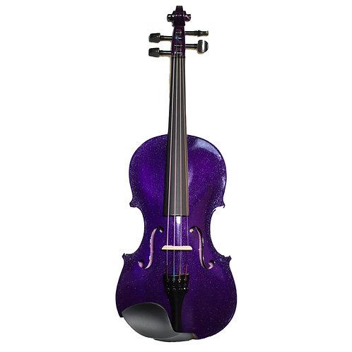 Violín Púrpura perlado +Estuche