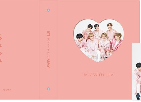 [OPEN] Boy with Luv photocard binder set
