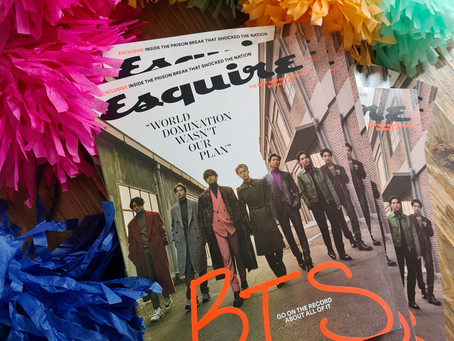 [UPDATE] BTS Esquire (US) magazines have arrived (all batches)