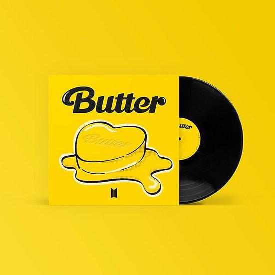 """BTS Butter 7"""" Vinyl & Cassette single"""