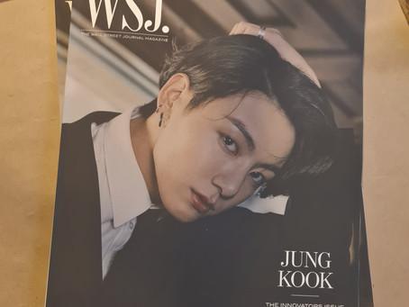 [UPDATE] WSJ Jungkook has arrived!
