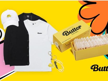 [OPEN] BTS Butter Official Merchandise pre-order tomorrow!