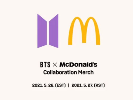 [OPEN] BTS x McDonalds collaboration reservation TONIGHT ONLY