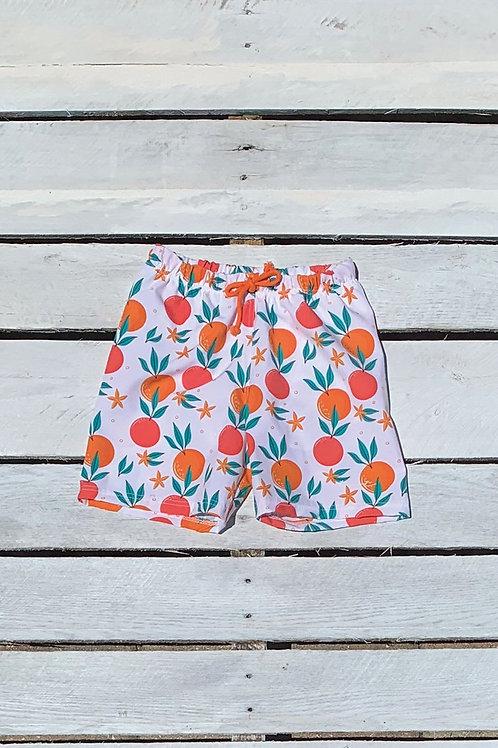 Boys Swim Short in Tropical Fruit