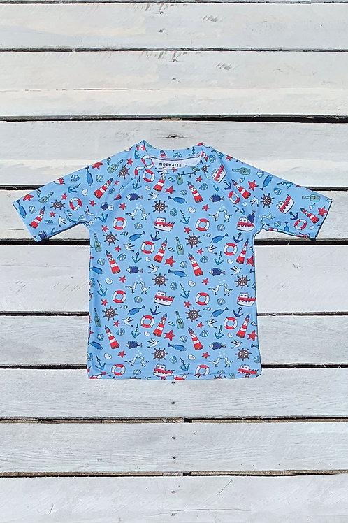 Coastal Cuties Short Sleeve Sun Shirt