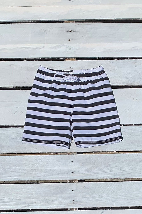 Boys Swim Short Bold Stripes