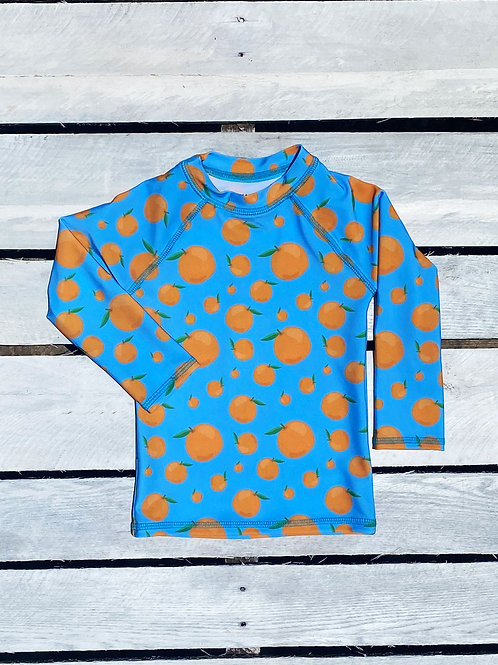 Squeeze the Day Long Sleeve Rash Guard