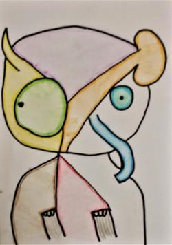 Picasso Animal Yr 6