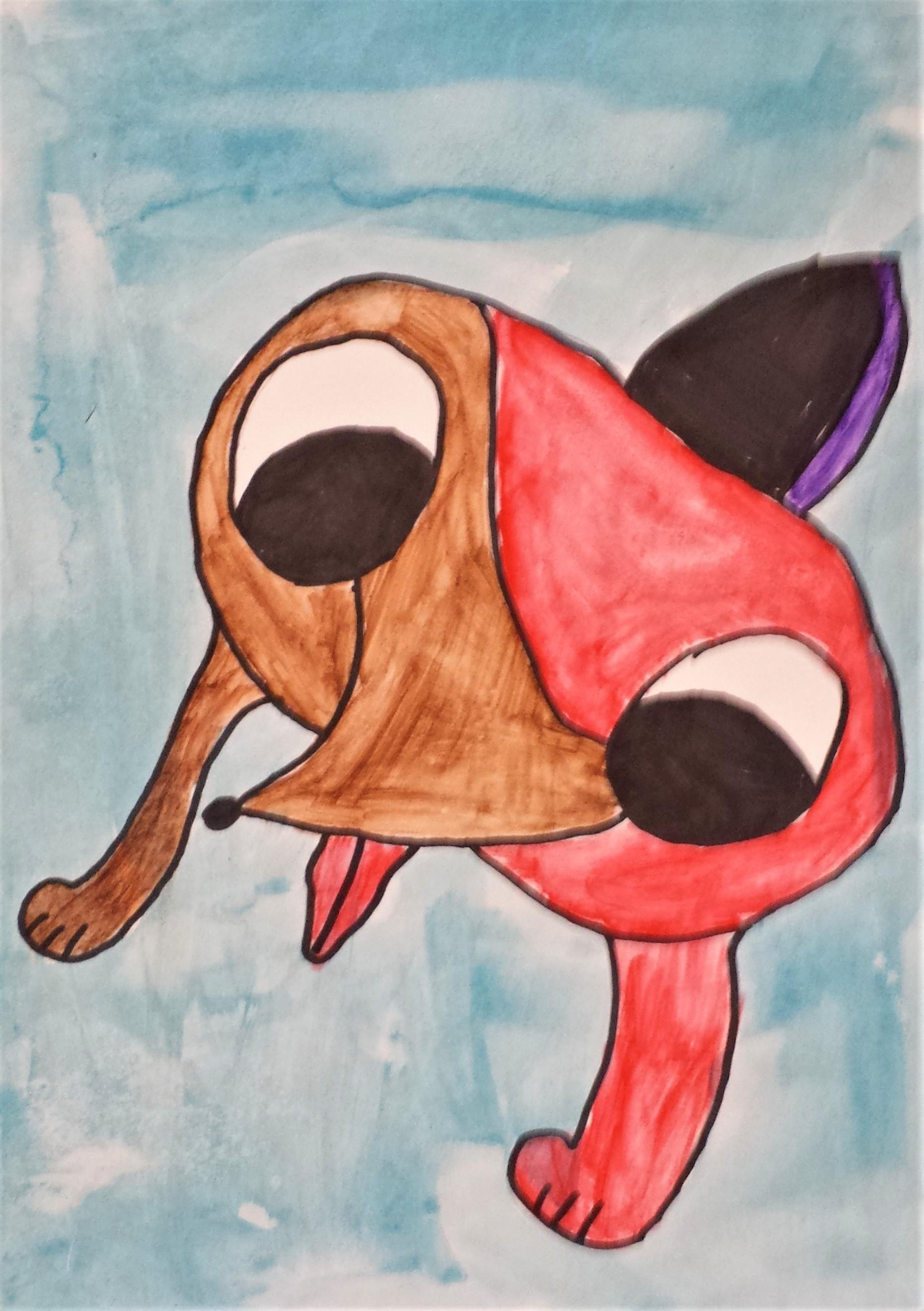 Picasso Dog Yr 2