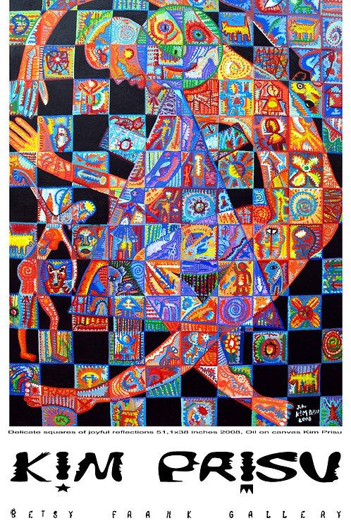 Delicate squares of joyful reflections