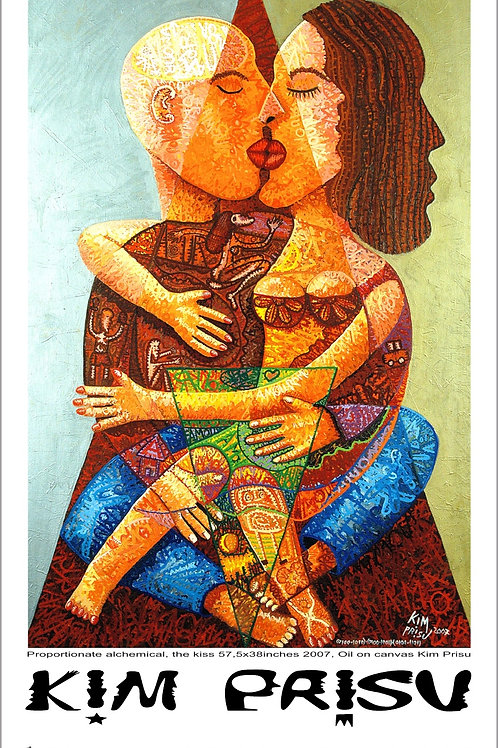 Proportionate alchemical, the kiss