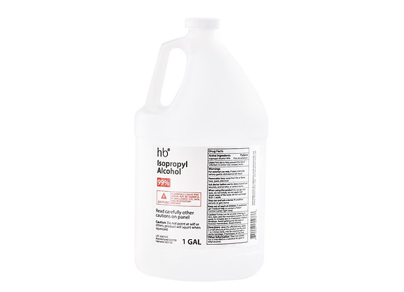 99% Isopropyl Alcohol - 1 Gal Jug