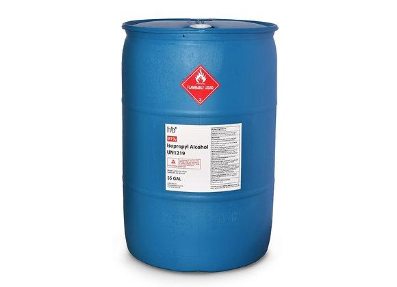 91% Isopropyl Alcohol - 55 Gal Drum