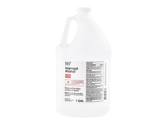 91% Isopropyl Alcohol - 1 Gal Jug