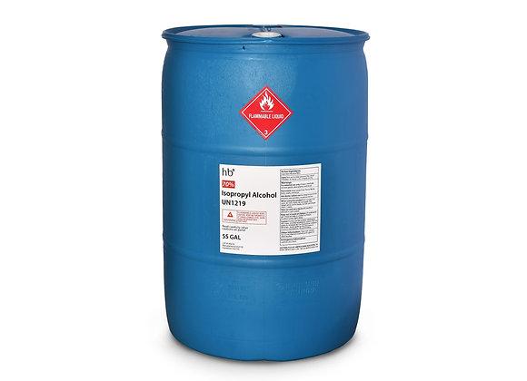 70% Isopropyl Alcohol - 55 Gal Drum
