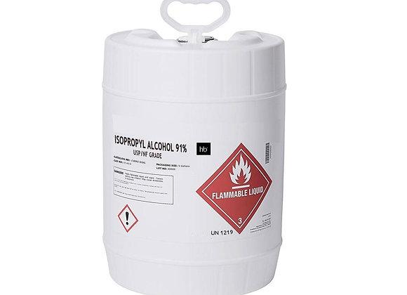91% Isopropyl Alcohol - 4 Gal Jug