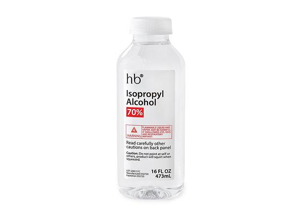 70% Isopropyl Alcohol - 16oz Bottle